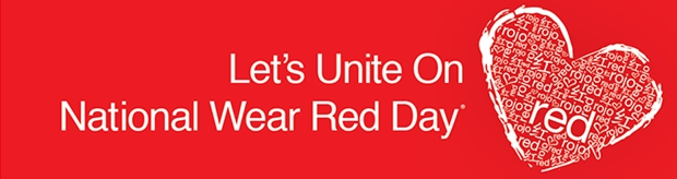 National Wear Red Day Header