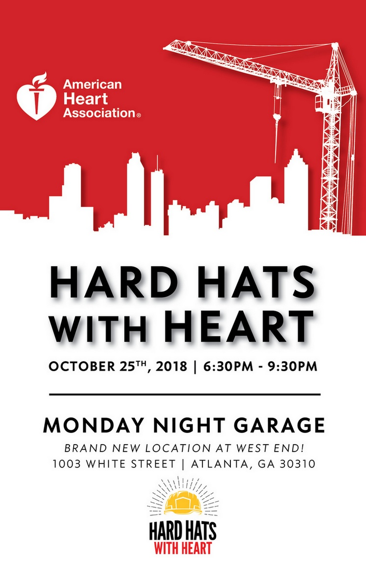 2018 Atlanta Hard Hats with Heart.  Thursday, October 25, 2018