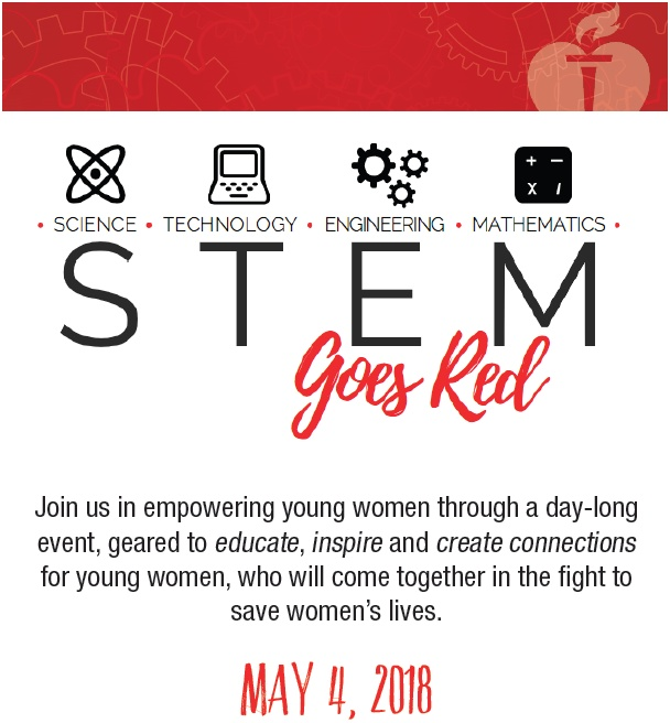 STEM Goes Red Flyer Top